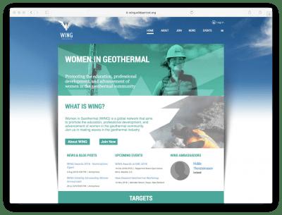 U.S. has taken on the global leadership of Women in Geothermal (WING)