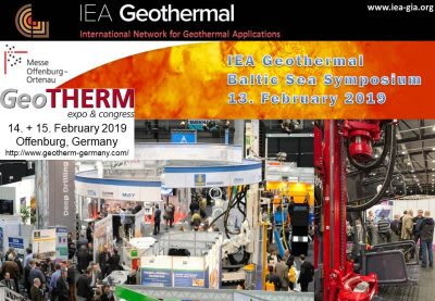 IEA – Geothermal Baltic Sea Symposium, GeoTHERM, Offenburg – 13 February 2019