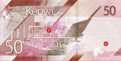 Kenya features geothermal plant on new 50 shilling bank note
