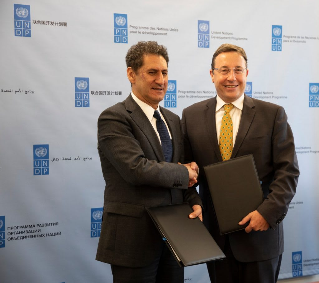 UNDP and IRENA announce global partnership to advance low-carbon energy transition