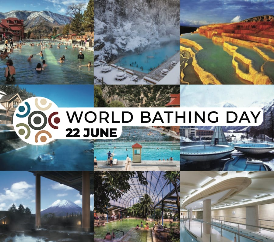 World Bathing Day – June 22 – Celebrating the benefits of bathing