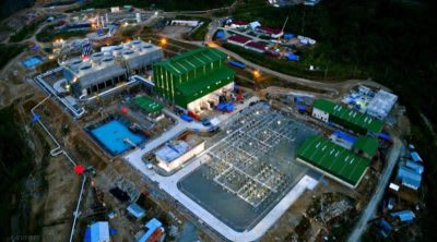 85 MW Muara Laboh geothermal plant officially inaugurated, Indonesia