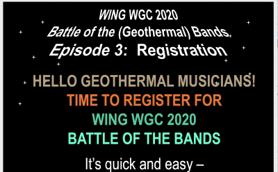 Episode 3 – Registration – WING Battle of the Bands at WGC 2020
