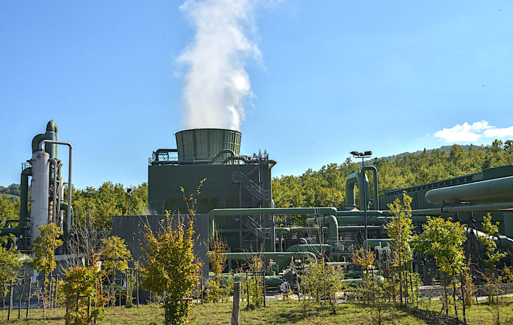Chiusdino geothermal plant increasingly destination for international visitors