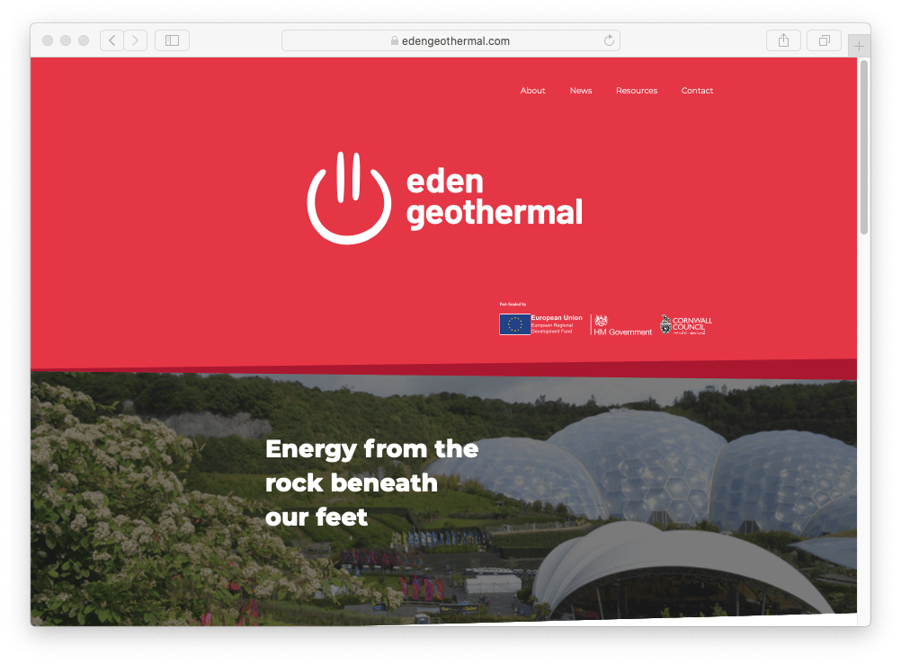 Tender – Direction Drilling Services, Eden Geothermal Project, Cornwall, UK