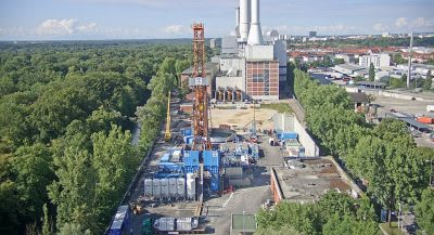 Geothermal heat to also fuel district cooling network in Munich, Germany