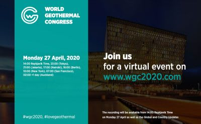 Reminder: WGC 2020 – Virtual Event & Global Updates  – 27 April 2020