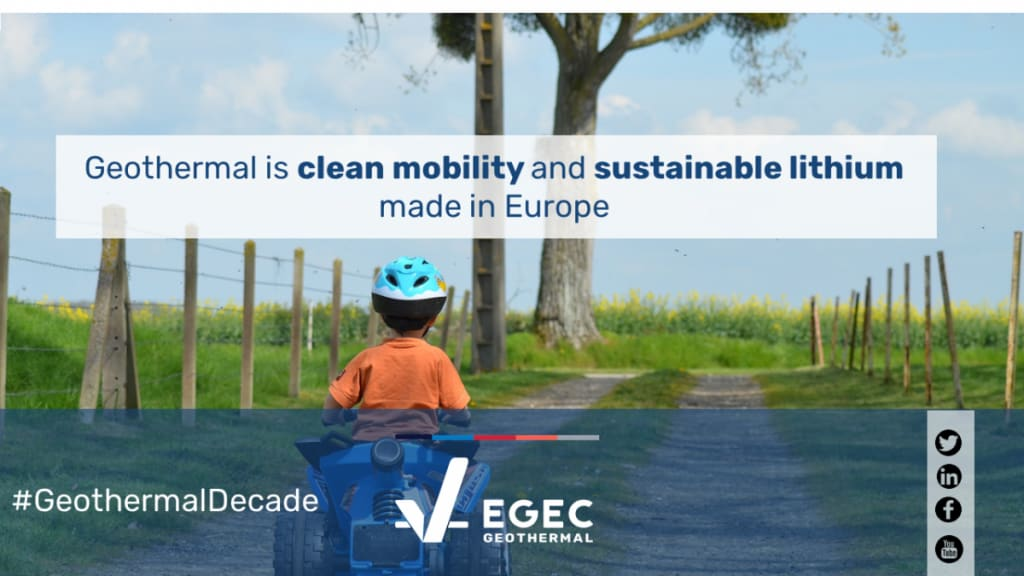 Clean geothermal lithium made in Europe – a position article by EGEC