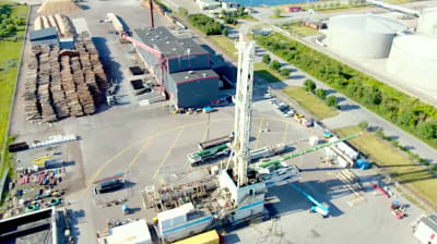 Drilling started for geothermal heating project in Malmö, Sweden