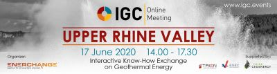 Upper Rhine Valley – IGC Online Meeting – June 17, 2020 – 14:00-17:30 CEST