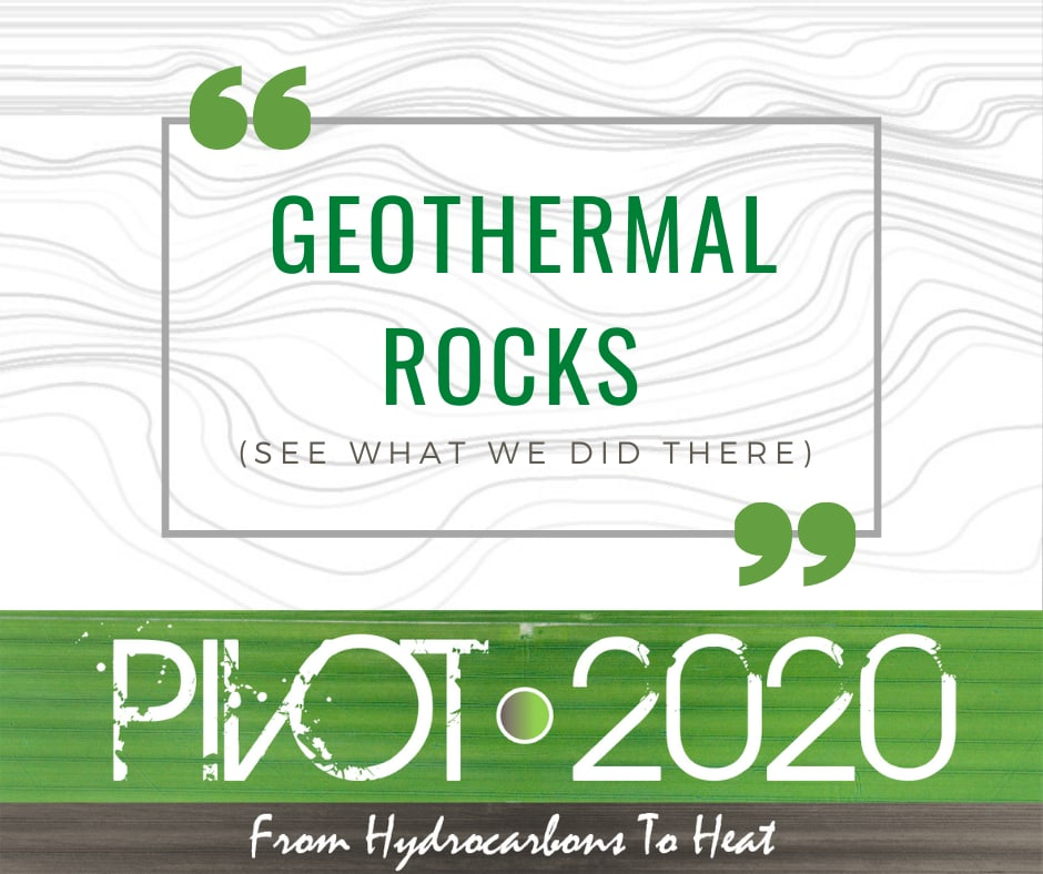 Program for Pivot 2020 from hydrocarbons to heat, July 13-17, 2020