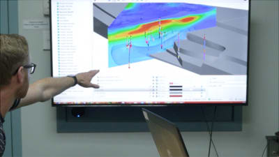 Utilising 3D modeling software in geothermal resource work at Contact Energy