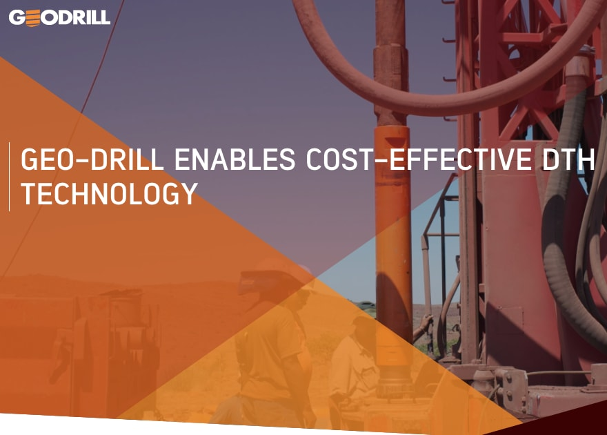 Geo-Drill project exploring down hole hammer drilling for geothermal