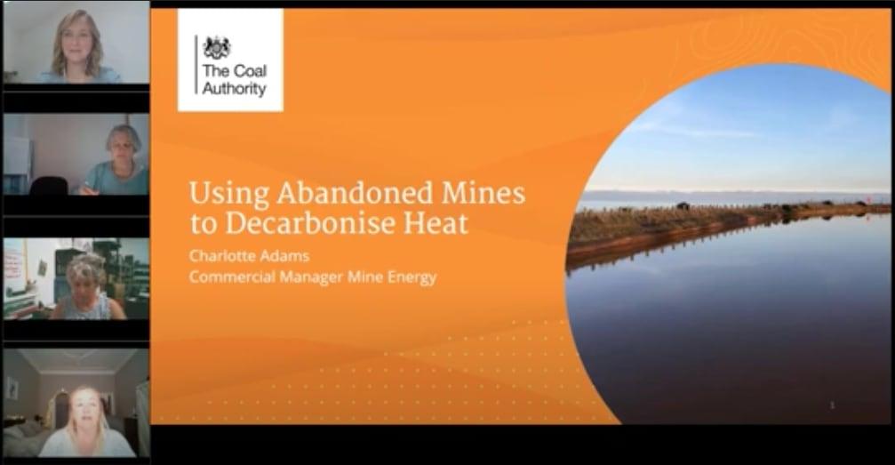 Recording – Using abandoned mines to decarbonise heat (WING UK & Ireland)