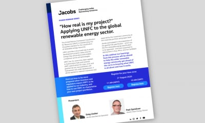 """""""How real is my project?"""" – Webinar Aug. 27, 2020 on applying UNFC to renewables and geothermal"""