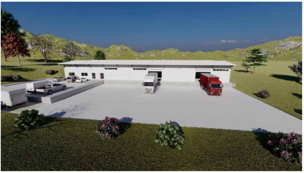 Geothermal food drying facility set up in Balikesir, Turkey