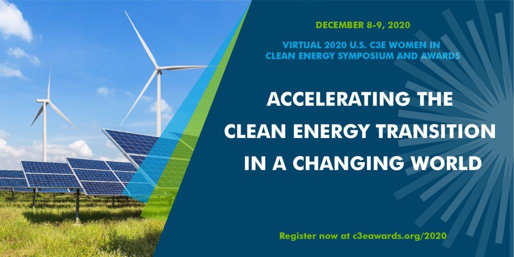 U.S. C3E Women in Clean Energy Symposium & Awards, Dec. 8-9, 2020