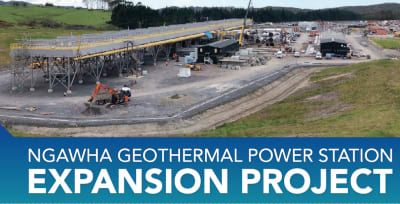 Testing starts at 32 MW Ngawha geothermal plant extension in Northland, New Zealand