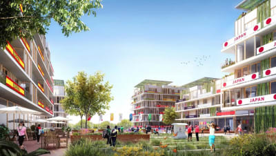 Geothermal energy to cool the Olympic village for the planned 2024 Games in Paris, France