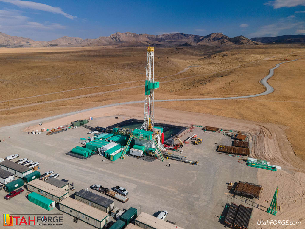 Utah FORGE geothermal research project commences drilling of first deviated well