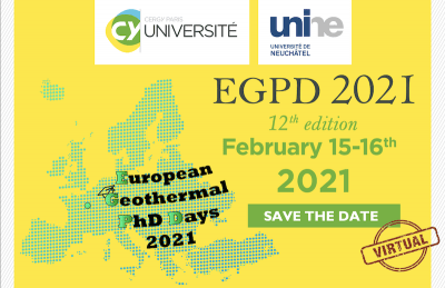 12th European Geothermal PhD Days/ Geothermal Winter School, Feb. 2021