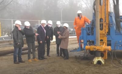 Drilling started on second well for geothermal heating project in Schwerin, Germany