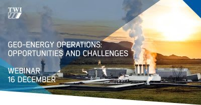 Webinar – Geo-Energy Operations: Opportunities & Challenges, Dec. 16, 2020