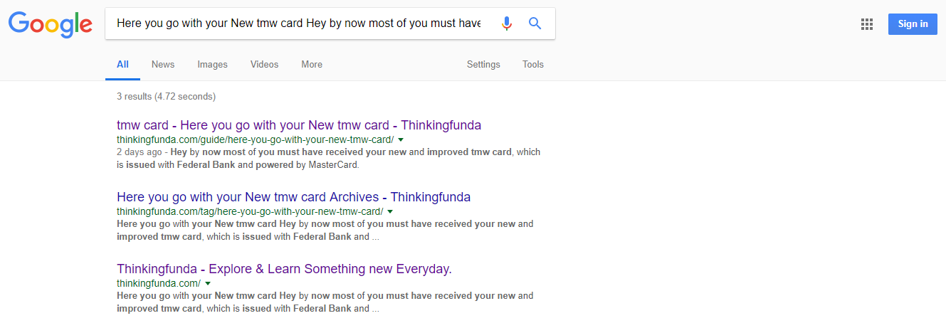 Thinkingfunda How To Remove All Copied Content From Google Search