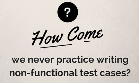 Thinkingfunda Is Non-functional Testing Always Carried out without Documentation and Test Cases? Why?