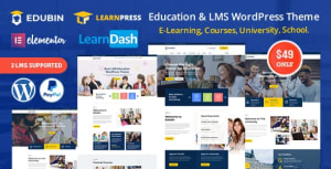 Edubin 6.5.0 – Education LMS WordPress Theme