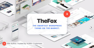 TheFox 3.9.9.8.20 Nulled - Responsive Multi-Purpose WordPress Theme -New Update