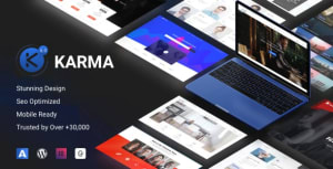 Karma 6.1.4 - Elementor Business WordPress Theme