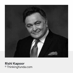 Tribute of Rishi Kapoor