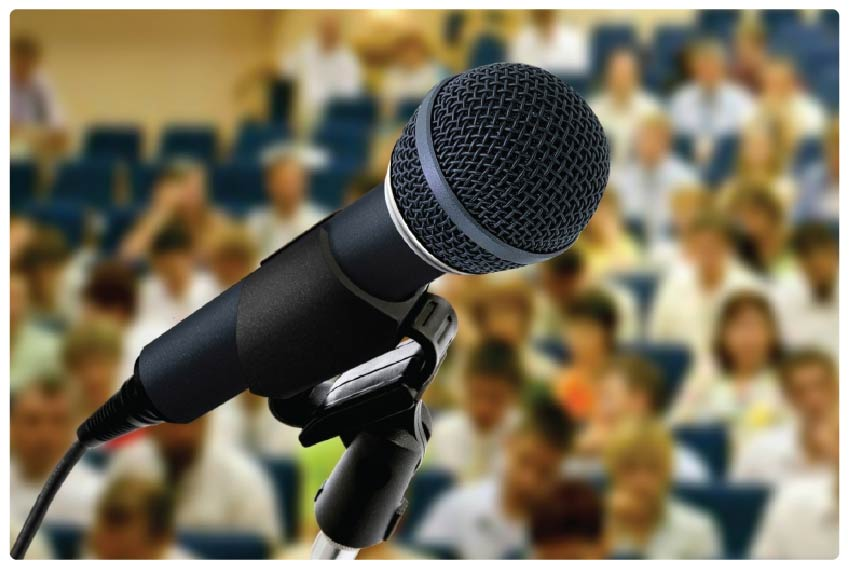 Giving an effective conference presentation