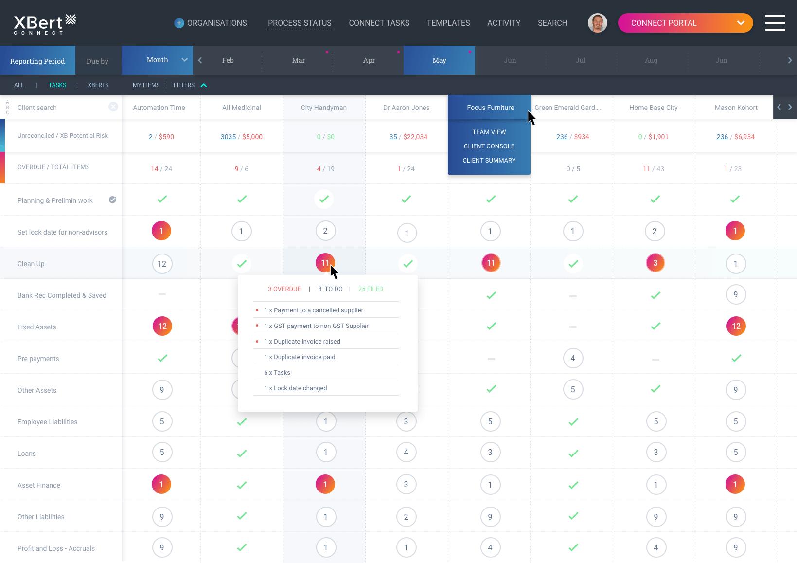 XBert Connect Portal