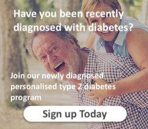 man with type 2 diabetes carrying wife