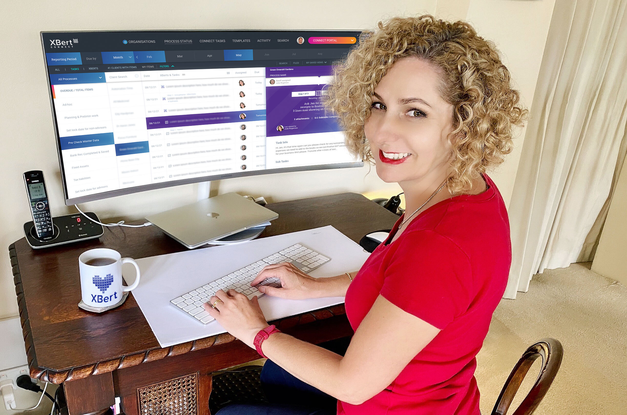 Nicole Lynch says bookkeepers can sleep easy knowing XBert's ai-audit and risk alerts will help them discover any issues, inconsistencies and errors in their Xero accounting software in real time.