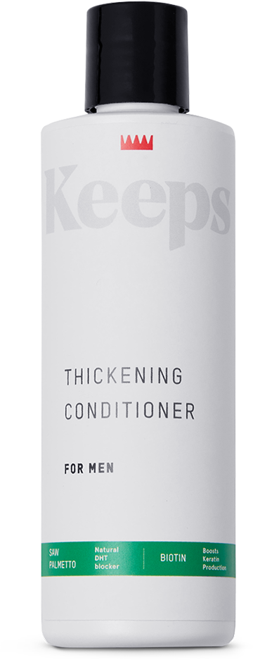 KEEPS THICKENING CONDITIONER | Keeps