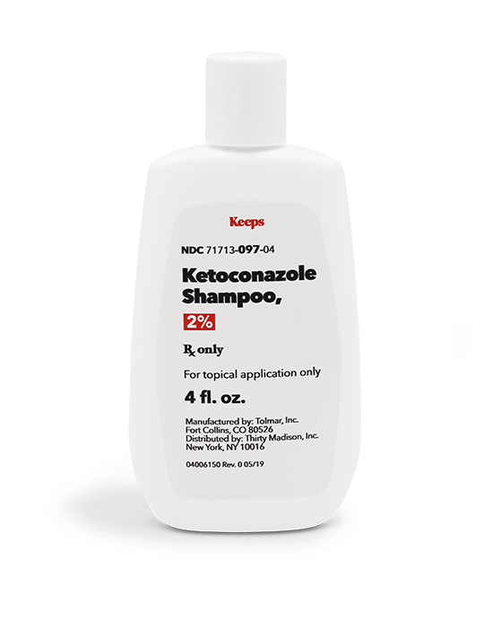 2% KETOCONAZOLE SHAMPOO | Keeps