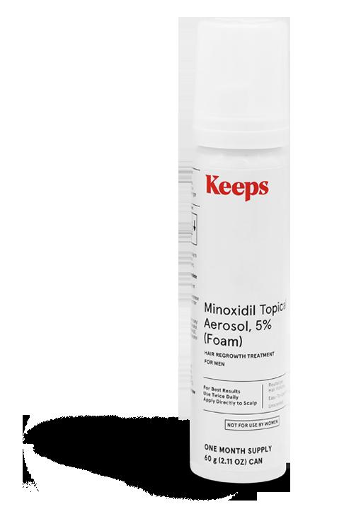 MINOXIDIL FOAM, 5% | Keeps