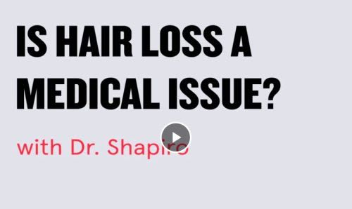 Hair loss medical issue