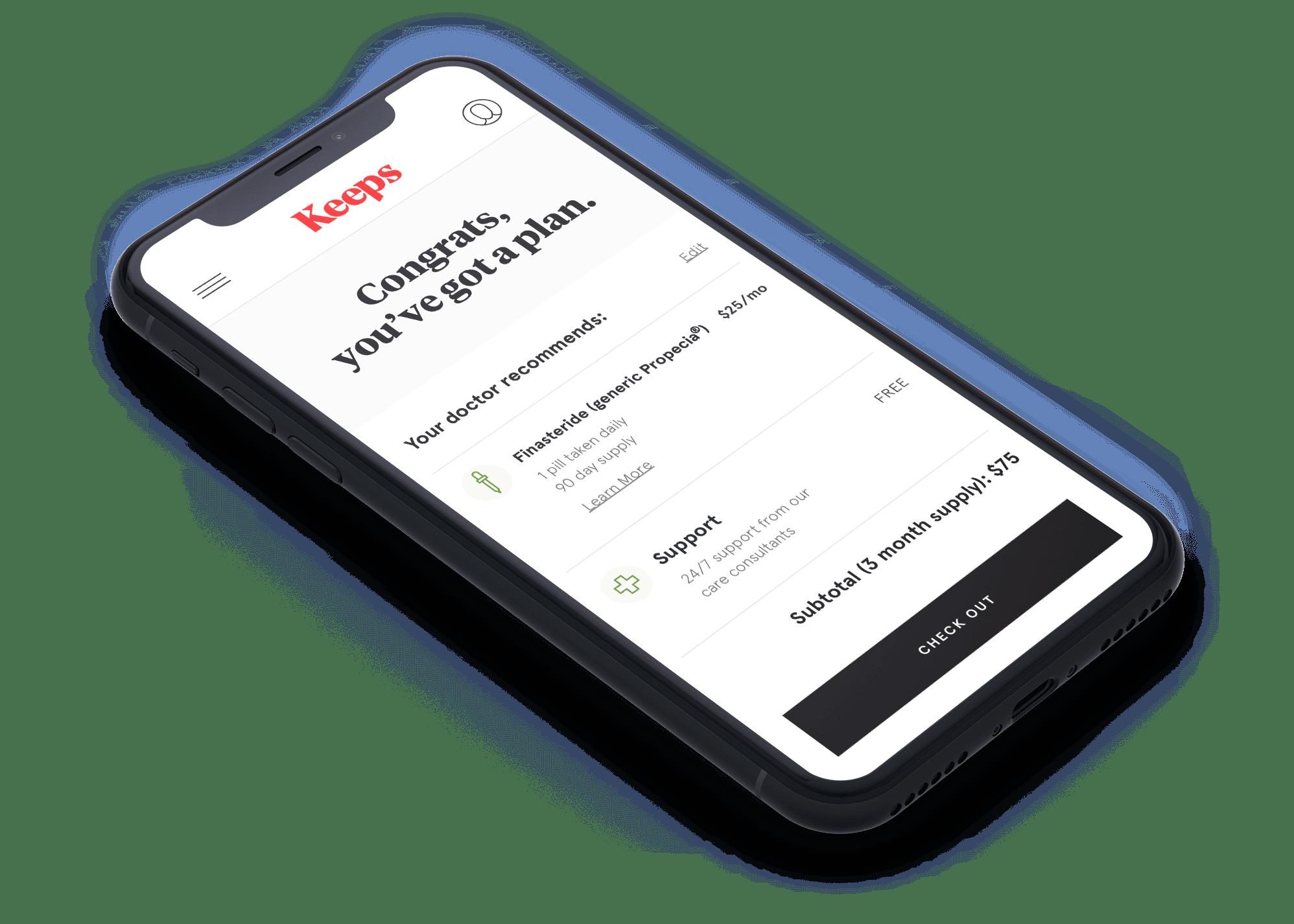 Phone isometric consultation