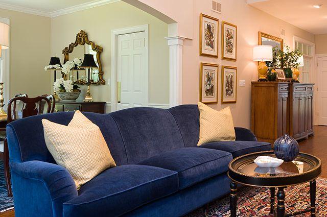 MJM Interiors - Den, Living Room, Foyer