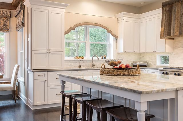 MJM Interiors - 100 Year Old Home Kitchen