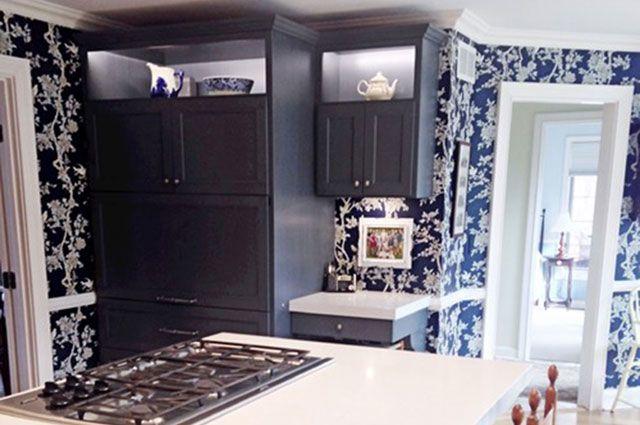 MJM Interiors - Traditional Kitchen