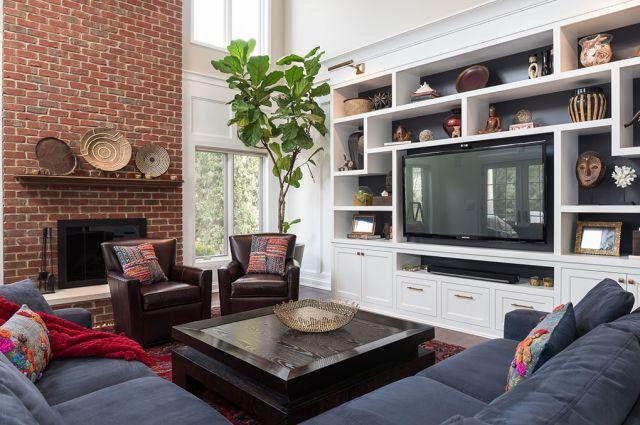 MJM Interiors - Family Room