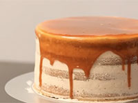 Dreidoppel Naked Cake