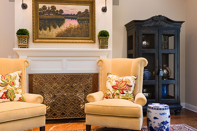 MJM Interiors - Fireplace