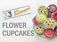 How to Frost a Cupcake: Flower Designs