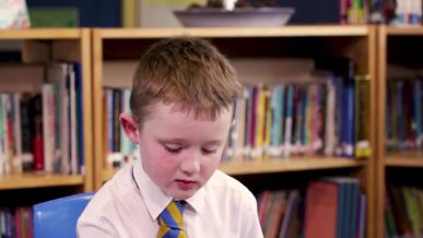 This footage can be used to support teacher assessment judgements for English reading at the end...